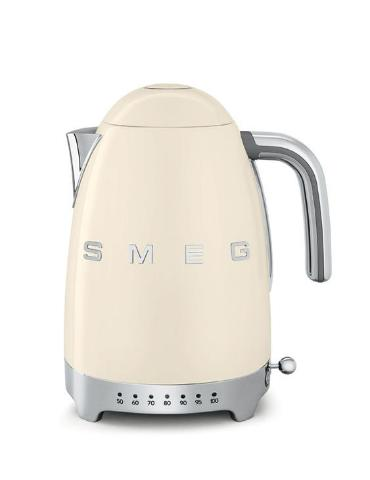 Smeg KLF04CRUK Cream Variable Temperature Cordless Electric Kettle - KBME