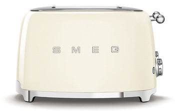 Smeg 4 Slot 4 Slice Toaster Cream