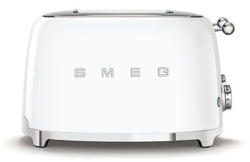 Smeg 4 Slot 4 Slice Toaster White
