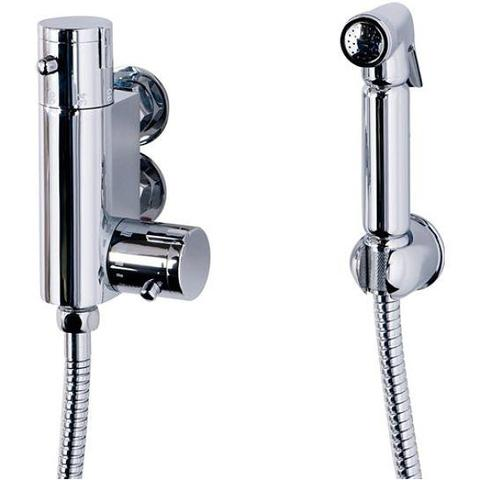 Cassellie Elegant Bathrooms Vertical Thermostatic Bar Valve And Douche Bidet Mixers & Douches