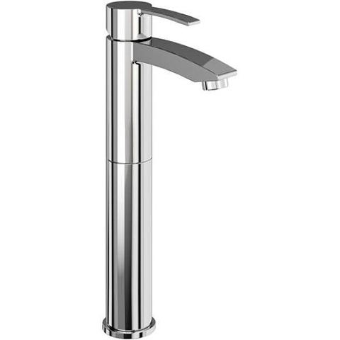 Britton Bathrooms Clearwater Baths Sapphire Tall Basin Mixer Without Waste
