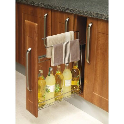 150Mm Base Pull-Out Towel Rail Kitchen Gadgets