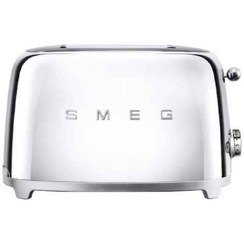 Smeg TSF01SSUK Chrome Two Slice Toaster - KBME