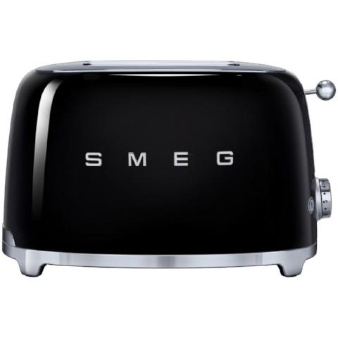 Smeg TSF01BLUK Black Two Slice Toaster - KBME