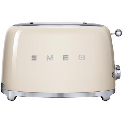 Smeg TSF01CRUK Cream Two Slice Toaster - KBME