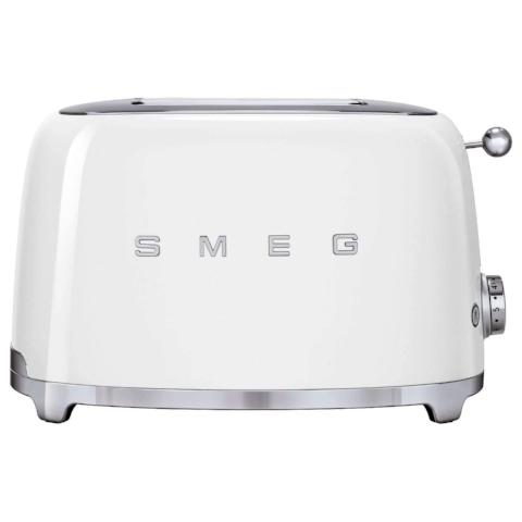 Smeg TSF01WHUK White Two Slice Toaster - KBME