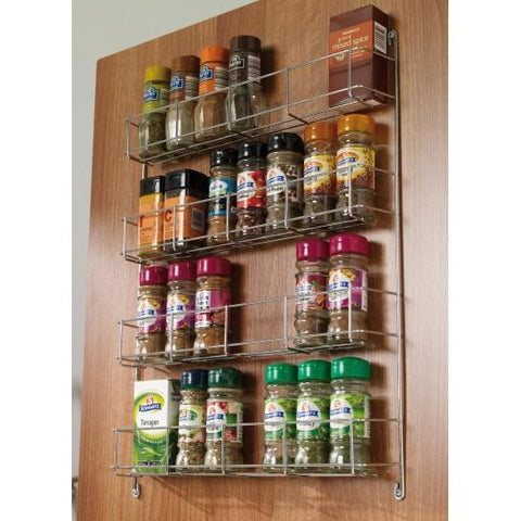 4 Tier Spice Rack Kitchen Gadgets