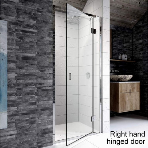 Pinnacle 8 Hinged Recess Shower Enclosure - KBME