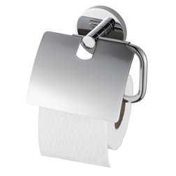 Aqualux PRO 2000 TOILET ROLL HOLDER WITH COVER