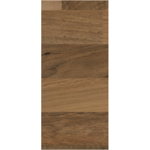 Elation Blocked Walnut Laminate Worktop - KBME