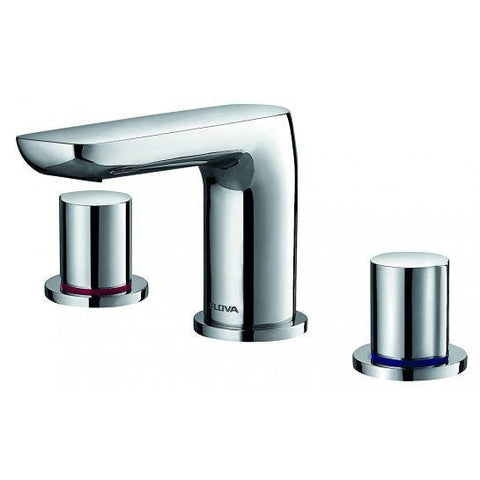 Allore 3-Hole Basin Mixer With Cllicker Waste Set