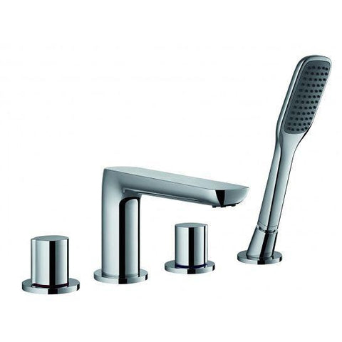 Allore 4-Hole Bath And Shower Mixer With Set