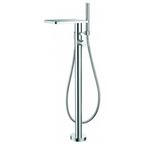 Annecy Floor Standing Single-Lever Bath And Shower Mixer With Set