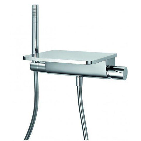 Annecy Wall Mounted Single-Lever Bath And Shower Mixer With Set