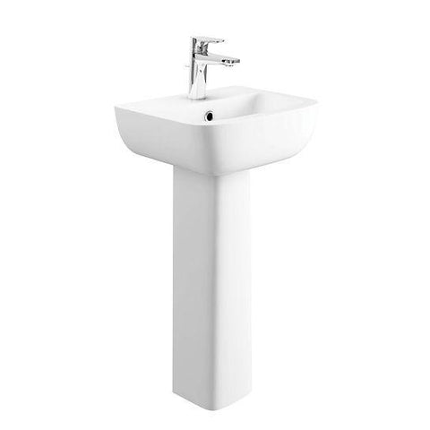 Arizona Cloakroom Basin And Pedestal