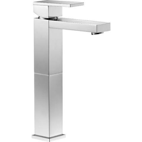 Bloque Tall Single Lever Basin Mixer With Clicker Waste