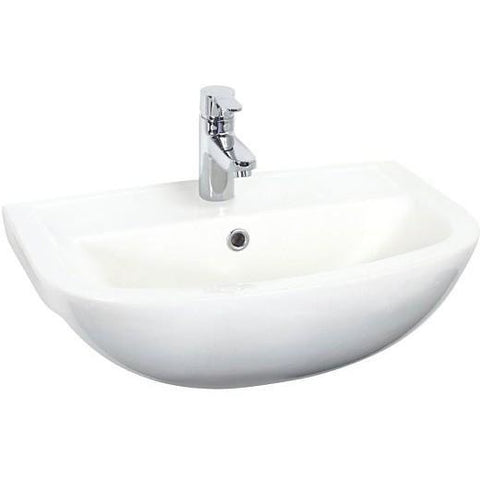 Bermuda Semi Recessed Basin