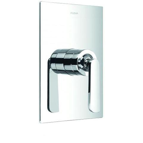 Cascade Concealed Manual Shower Mixer With Dual Outlet Surface Valves