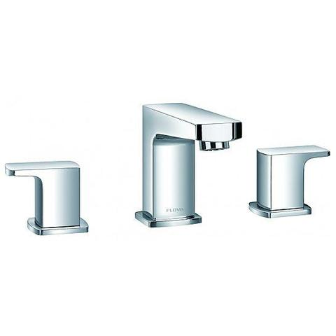 Dekka 3 Hole Basin Mixer With Clicker Waste Set