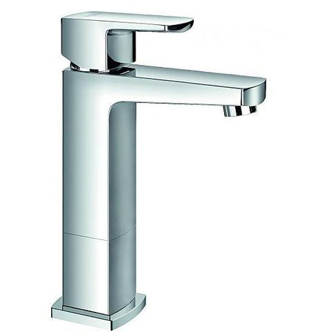 Dekka Mid-Height Basin Mixer With Clicker Waste Set