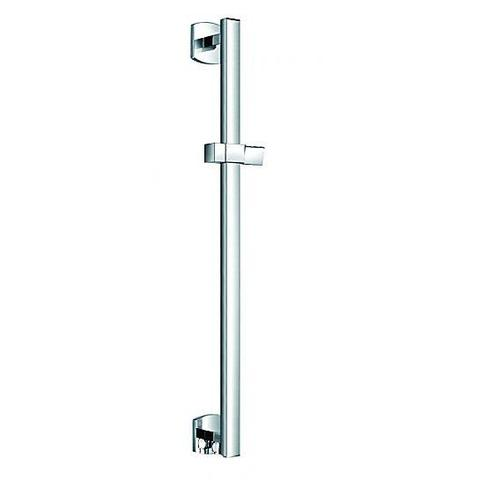 Dekka Slide Rail Set With Integral Wall Outlet Shower Rails
