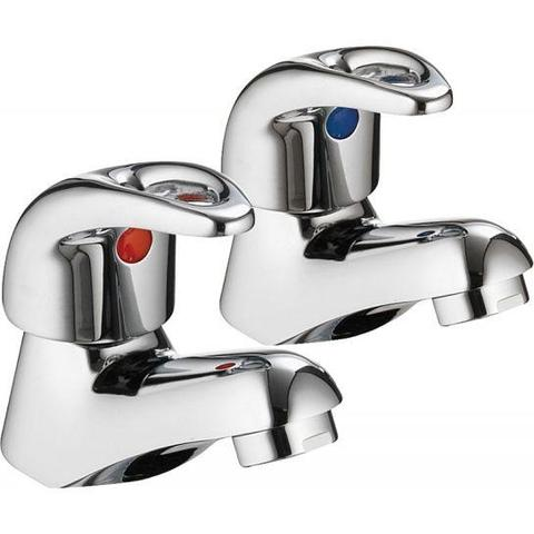 Dv8 Basin Pillar Taps (Pair)