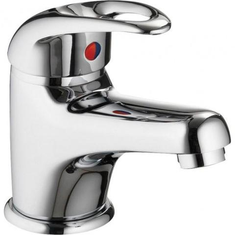 Dv8 Eco Basin Mixer With Clicker Waste
