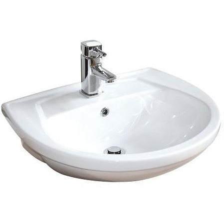 Delaware Semi Recessed Basin
