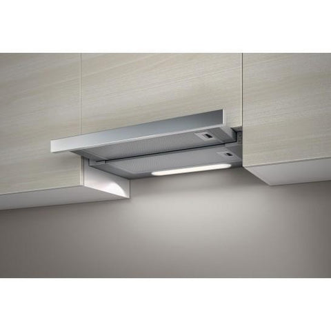 Elica Elite 14 Telescopic Hood With Stainless Steel Front Panel Integrated Cooker Hoods