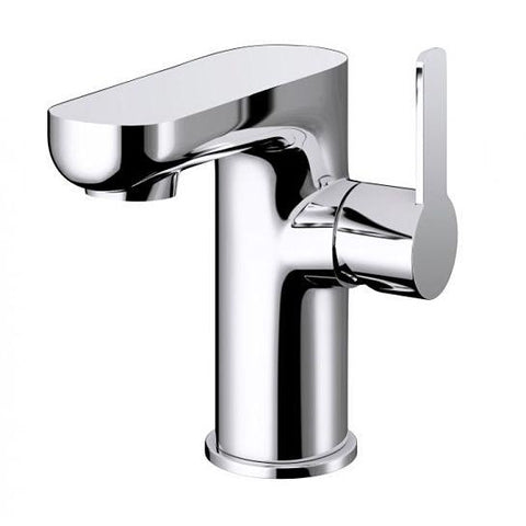 Echo Side Lever Basin Mixer With Clicker Waste