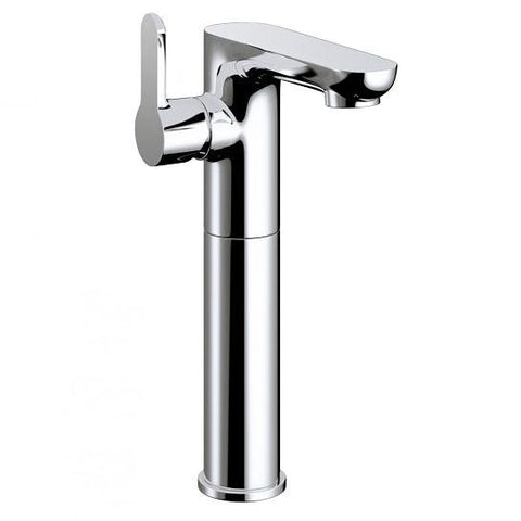 Echo Tall Side Lever Basin Mixer With Clicker Waste