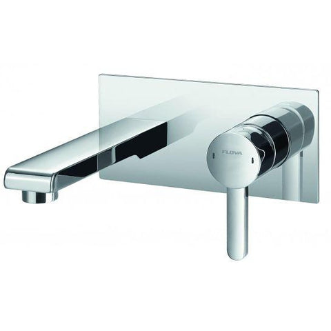 Essence Concealed Single-Lever Basin Mixer With Clicker Waste Set
