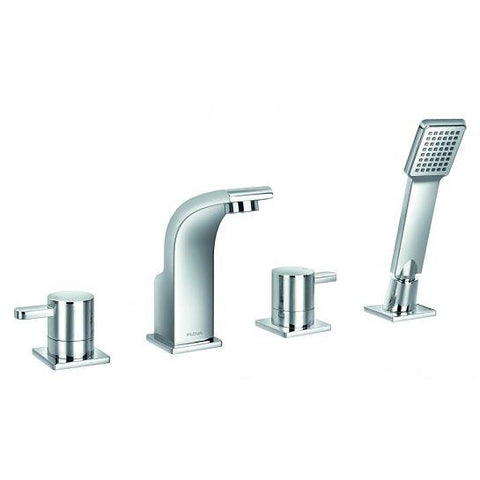 Essence 4 Hole Basin And Shower Mixer With Set