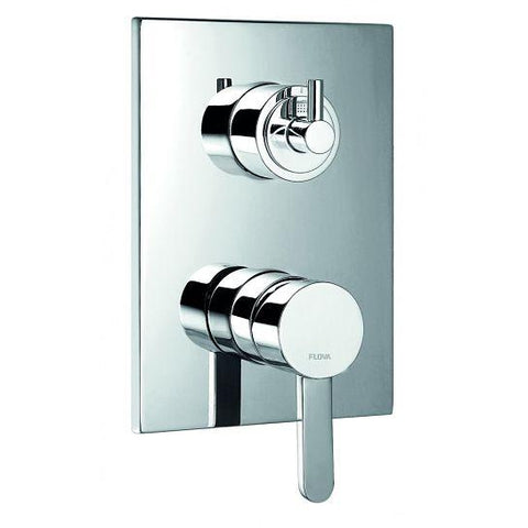 Essence Concealed Manual Shower Mixer 3-Way Diverter With Smartbox Surface Valves