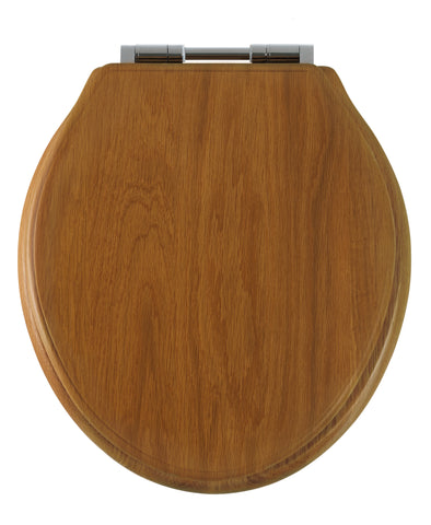 Greenwich Soft Close Toilet Seat | Honey Oak