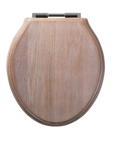 Greenwich Soft Close Toilet Seat | Limed Oak