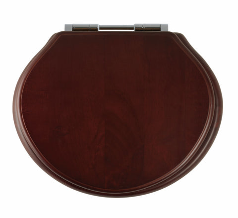 Greenwich Soft Close Toilet Seat | Mahogany
