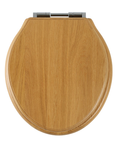 Greenwich Soft Close Toilet Seat | Oak