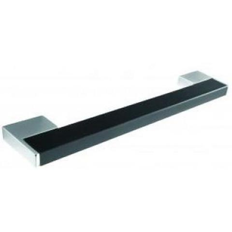Black Satin Effect Bar Handle (H761.128.chbr) Kitchen Handles