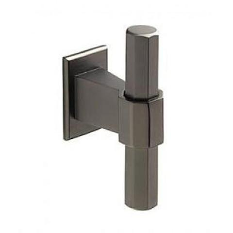 Black Satin Effect Knob (H995.68.bs) Kitchen Handles