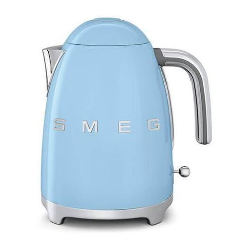 Smeg KLF03PBUK Pastel Blue Retro Style Cordless Electric Kettle - KBME