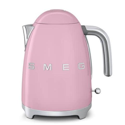 Smeg KLF03PKUK Pink Retro Style Cordless Electric Kettle - KBME