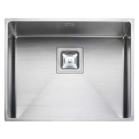 Rangemaster Atlantic Kube Kub50 Large Bowl Sink And Waste Undermounted Sinks