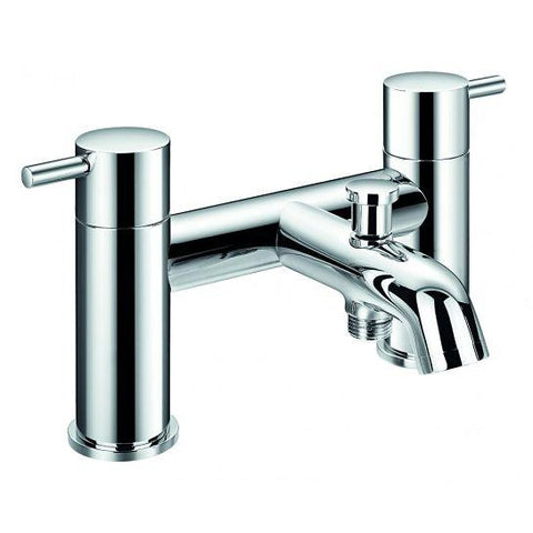 Levo Deck Mounted Bath And Shower Mixer With Hand Set