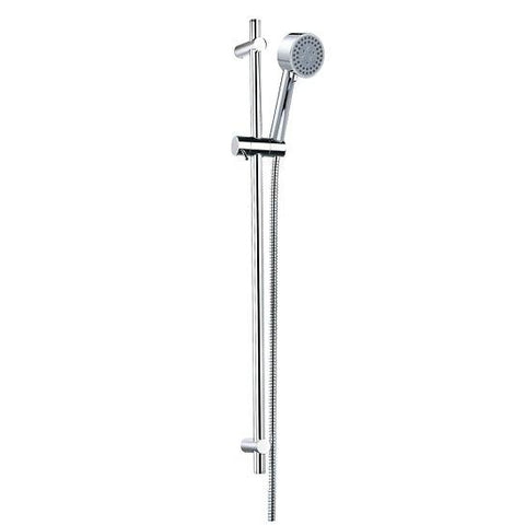 Levo Slide Rail Set With Ki180 3 Function Hand Shower And Ki200D Flexible Hose Rails