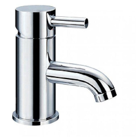 Levo Small Basin Mixer With Clicker Waste Set