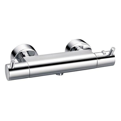 Levo Exposed Thermostatic Shower Mixer (Excludes Kit) Mixers