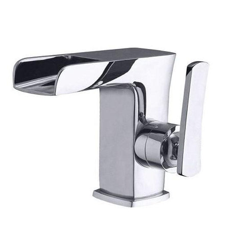Lagoon Waterfall Basin Mixer Including Clack Waste