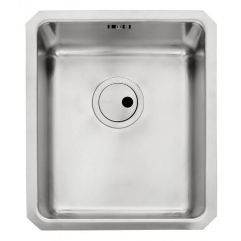 Abode Matrix R25 1.0 Bowl Sink And Waste Undermounted Sinks
