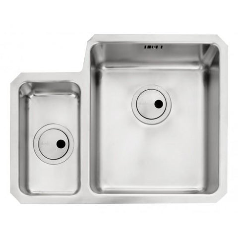 Abode Matrix R25 1.5 Bowl (R/h Or L/h) Sink And Waste Undermounted Sinks